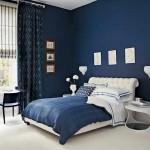 idei amenajare dormitor modern decor albastru