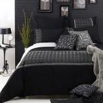 idei amenajare dormitor negru modern