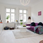 idei amenajare living apartament stil scandinav