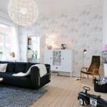 idei amenajare living modern stil scandinav