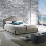 idei decor piatra naturala dormitor modern minimalist