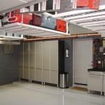 idei depozitare unelte rafturi suspendate tavan garaj
