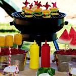 idei meniu petrecere pentru copii in aer liber in curtea sau gradina casei