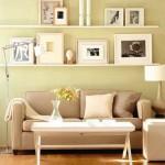 idei montare rafturi decorative living mic