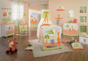 iluminat camera bebelusi
