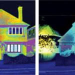 imagini infrarosu inainte si dupa izolare casa