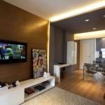 impartire pe zone open space apartament modern mic