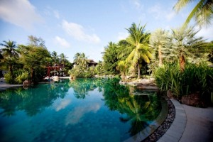 Un resort de vis, in inima unei paduri tropicale – Indigo Pearl