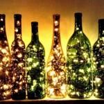 instalatii luminoase brad interior sticle pentru iluminat decorativ curte si gradina