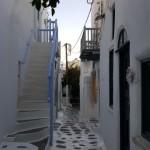 insula Mykonos din Grecia in centrul orasului