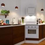 integrarea cuptorului electric in dulapul de sub plita de gatit