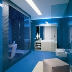 interior albastru baie moderna 2014