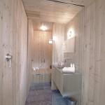 interior baie moderna placata cu lemn ufogel austria