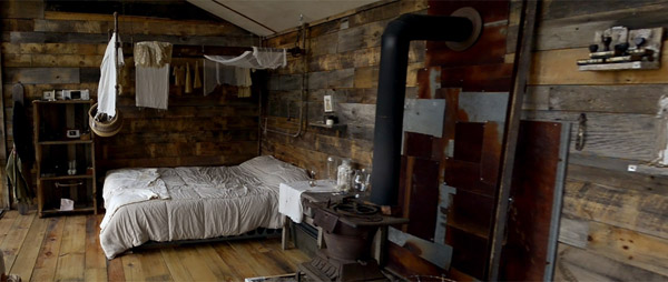 Interior Cabana Lemn Cu Fatada Din Ferestre Vechi Casadex Ro