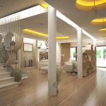 Proiect design interior, trimis de Arhitect Laurentiu Palade – IMAGINI