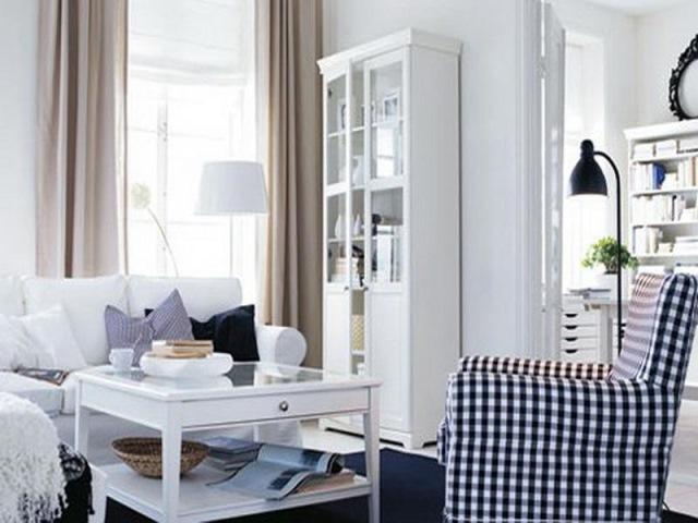 interior living alb mobila ikea