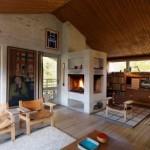 interior living casa moderna cu influente rustice