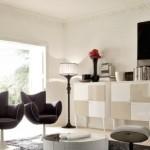 interior living modern accente vintage