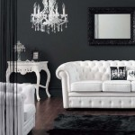 interior living modern alb negru mobila stil baroc