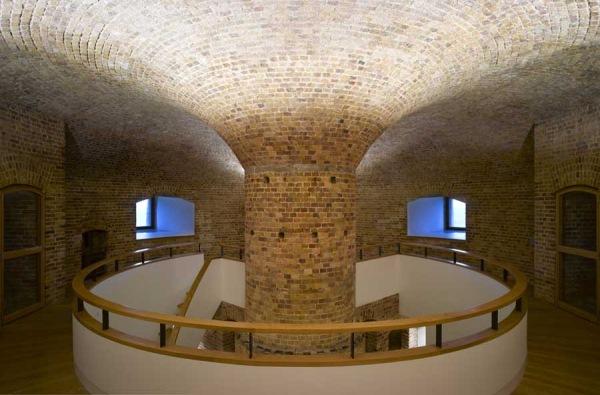 interior martello tower