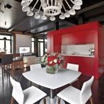 interior stil loft apartament modern