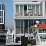 intrare terasa si balcon casa plutitoare prefabricata amsterdam