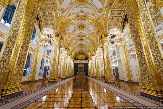 kremlin moscova interior resedinta oficiala a presedintelui rus