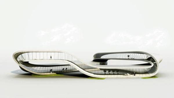 landscape house 3d