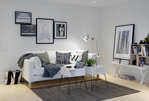 living alb stil minimalist
