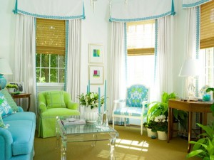 Albastrul in decorarea casei tale. Afla ce reprezinta
