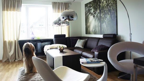 living apartament amenajat modern