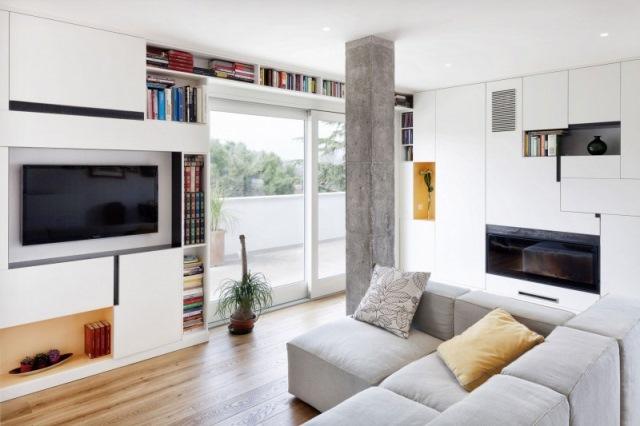 living apartament modern minimalist