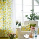 living decor cu accente cromatice galbene inspirate de primavara
