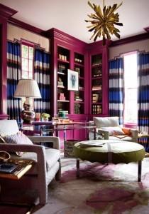 living eclectic accente decor violet ametist