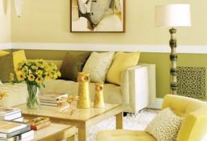 Galbenul in decorarea casei. Ce reprezinta?