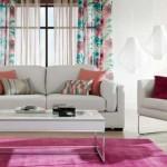 living modern amenajat in alb roz si bleu