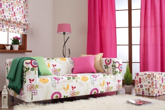 living modern culoare roz