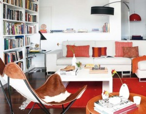living open space apartament madrid
