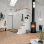 living open space apartament mansarda