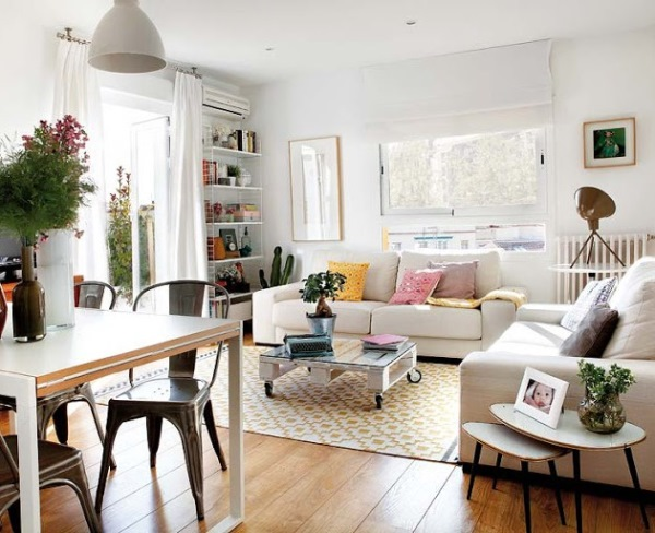 living open space apartament
