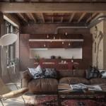 living open space stil industrial vintage