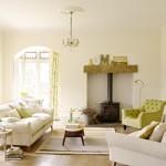 living stil clasic decorat in alb si vernil