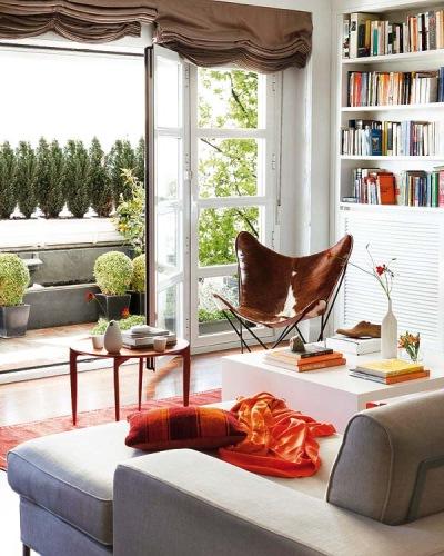 living terasa apartament madrid