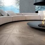 living ultramodern circular semineu deschis design inedit