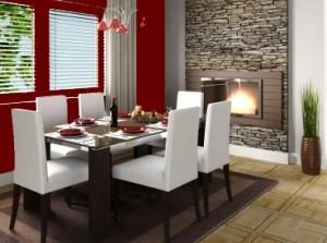 Amenajare dining-room. Locul de luat masa