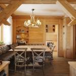 loc luat masa apartament decorat lemn