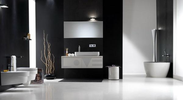 lumini baie alb negru