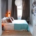 lustra cu abajur din hartie alba decor dormitor