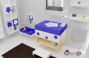 mobila baie copii