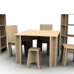 Mobila facuta in casa: scaune, mese si alte piese de mobilier